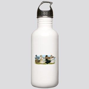 Eight Call Ducks Stainless Water Bottle 1.0L