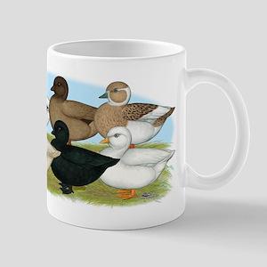 Eight Call Ducks Mug