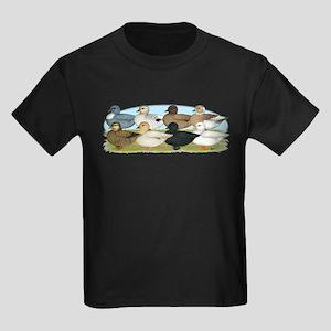 Eight Call Ducks Kids Dark T-Shirt