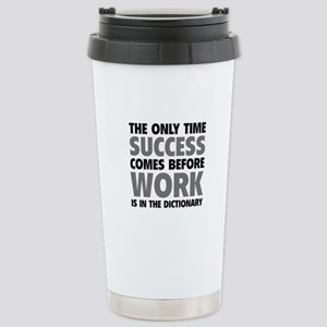 Succes Work Stainless Steel Travel Mug