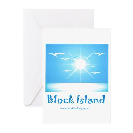 block island.jpg Greeting Cards (Pk of 10)