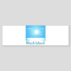 block island Sticker (Bumper)