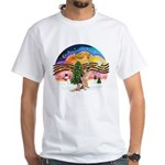 XM2-German Shephard #1 White T-Shirt