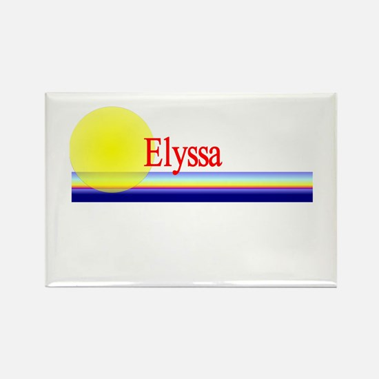 Elyssa Rectangle Magnet