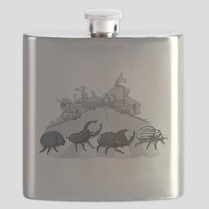 Beatles Flask