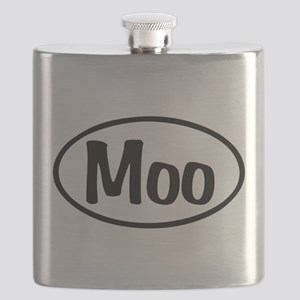 Moo Oval Flask