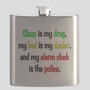 Sleep is my drug Flask
