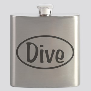 Dive Oval Flask