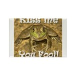 Kiss Me You Fool Rectangle Magnet (100 pack)