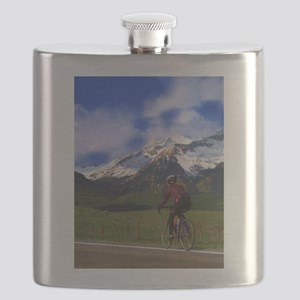 Cycling the Rockies Flask