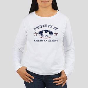 American Eskimo Women's Long Sleeve T-Shirt
