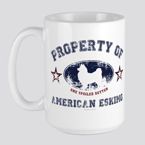 American Eskimo Large Mug