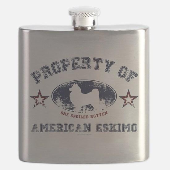 American Eskimo Flask
