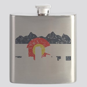 CO_Flag2_wash_Navy Flask