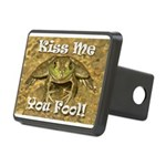 Kiss Me You Fool Rectangular Hitch Cover