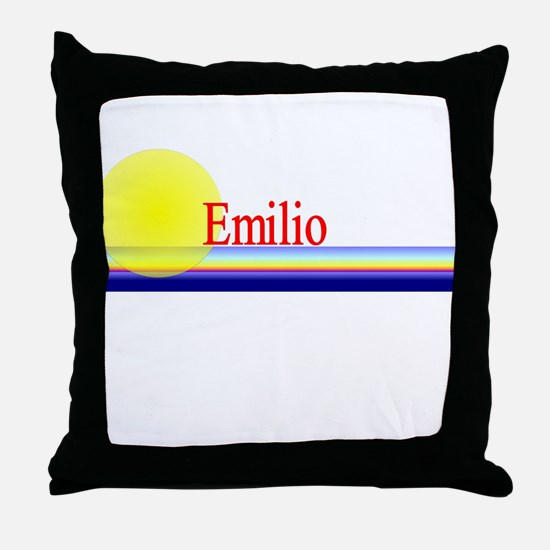 Emilio Throw Pillow