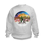XM2-Three Chihuahuas Kids Sweatshirt
