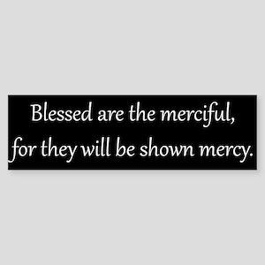 Mercy, White on Black, Beatitudes