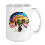 XMusic2 - Two Collies Large Mug