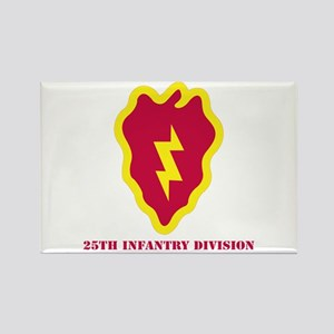 SSI - 25th Infantry Division with Text Rectangle M