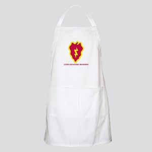 SSI - 25th Infantry Division with Text Apron