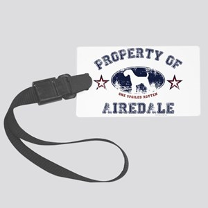 Airedale Large Luggage Tag
