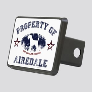 Airedale Rectangular Hitch Cover