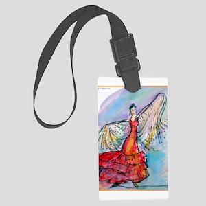 Flamenco dancer, art! Large Luggage Tag