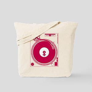 Female Turntable Tote Bag