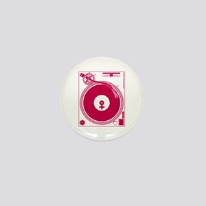 Female Turntable Mini Button