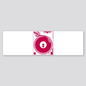 Female Turntable Sticker (Bumper)