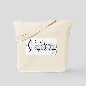 Cubby Pride Tote Bag