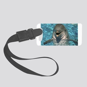 Dolphin Design Small Luggage Tag
