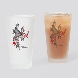 Skate parts Drinking Glass