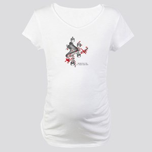 Skate parts Maternity T-Shirt