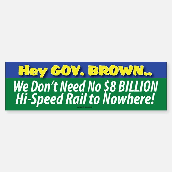Anti-Obama Sticker (Bumper)