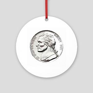 1985 Nickel Ornament (Round)