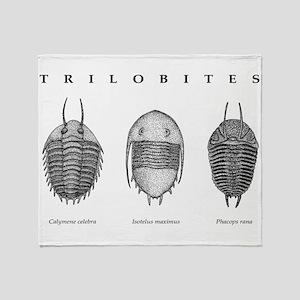 Trilobites Throw Blanket