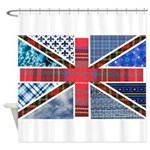 Tartan and other texture and patterns union jack S