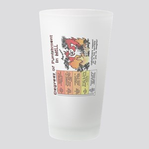 hell_sideways.png Frosted Drinking Glass