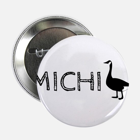 "Michigander 2.25"" Button"