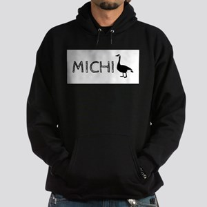 Michigander Hoodie (dark)