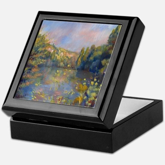 Renoir - Lakeside Landscape Keepsake Box