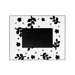 Leaf silhouette pattern Picture Frame