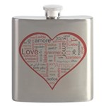 Words for Love in different languages Flask