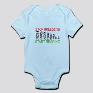 Stop Breeding Infant Bodysuit