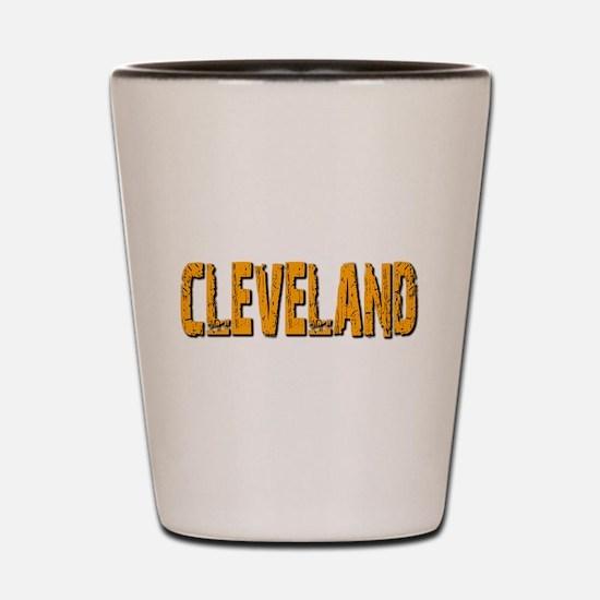 Cleveland Shot Glass