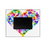 Rainbow Heart of Hearts Picture Frame