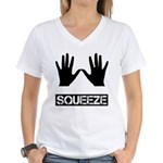 Squeeze Women's V-Neck T-Shirt