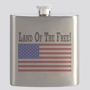 Land of the Free Flask